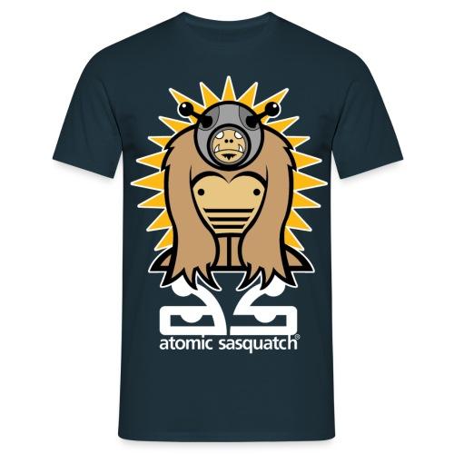 Atomic Sasquatch - Men's T-Shirt
