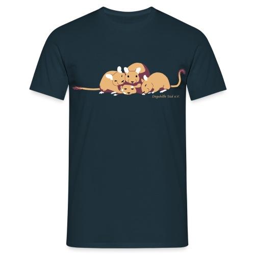 Kuschelhaufen - DHS - Männer T-Shirt