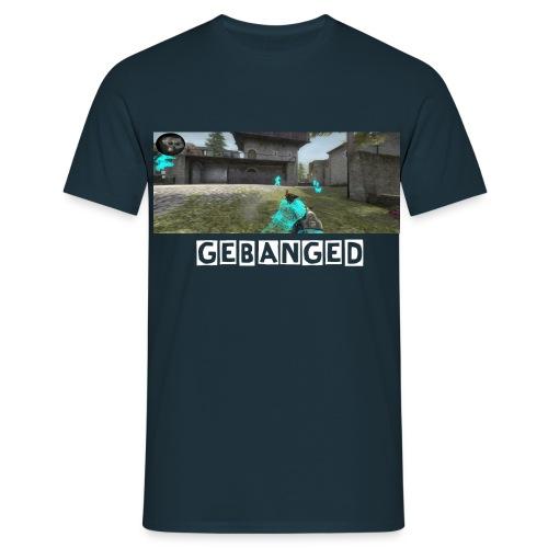 Gebanged Final schrift transparent png - Männer T-Shirt