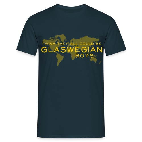 Glaswegian Boys - Men's T-Shirt