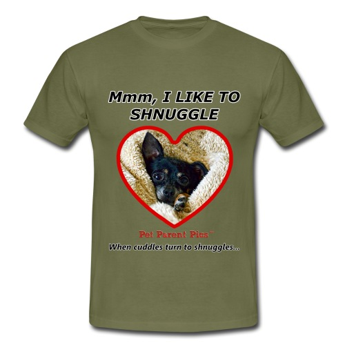 Mmm, I Like To Shnuggle - Men's T-Shirt