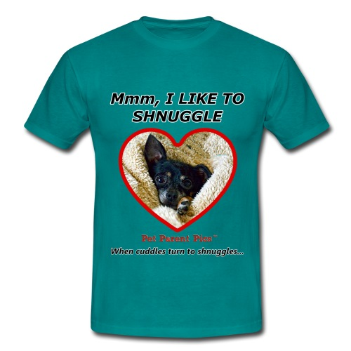Mmm, I Like To Shnuggle - Men's T-Shirt