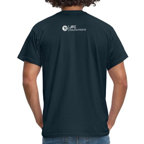 Anderen ein Stück vom Himmel zeigen_weiß - Männer T-Shirt