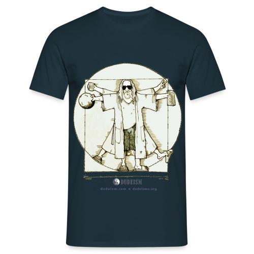 Dude Da Vinci - Maglietta da uomo