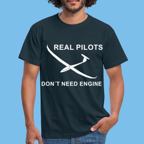 Pilot Segelflieger gleiten Segelflugzeug Geschenk - Männer T-Shirt