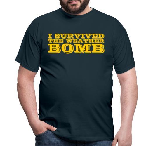 Weather Bomb - Men's T-Shirt