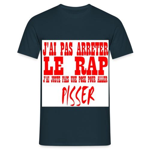JAI PAS ARRETER LE RAP - T-shirt Homme