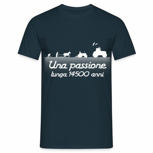 Passione agricola bianco - Maglietta da uomo