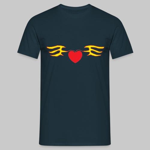 Heart & Fly - T-shirt Homme