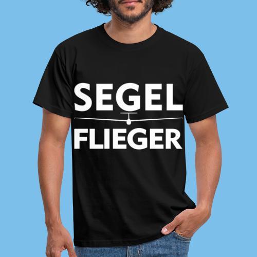 Segelflieger Segelflugzeug Spruch Geschenk Pilot - Männer T-Shirt