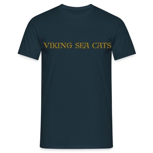Viking Sea Cats (Double Sided) - Men's T-Shirt
