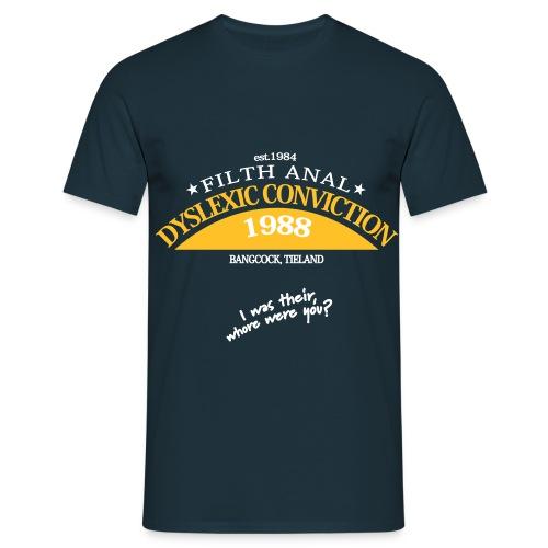 dyslexicplot Konvertiert 100 - Mannen T-shirt