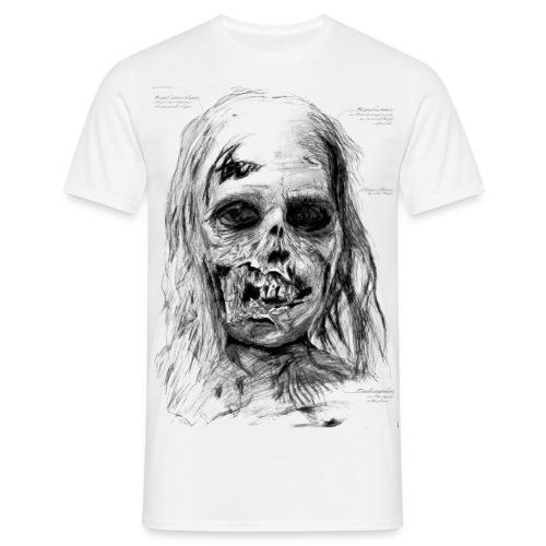 Zombie Kopf - Männer T-Shirt