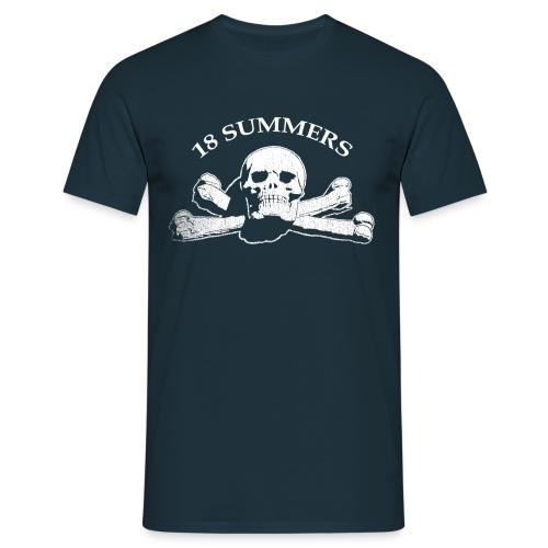 skulllogo - Männer T-Shirt