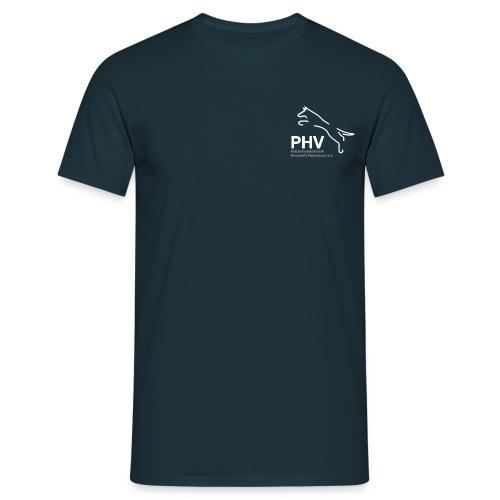 Logo PHV final weiss png - Männer T-Shirt