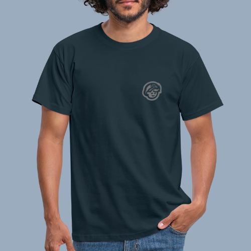 logo bb spreadshirt bb kopfonly inv - Männer T-Shirt
