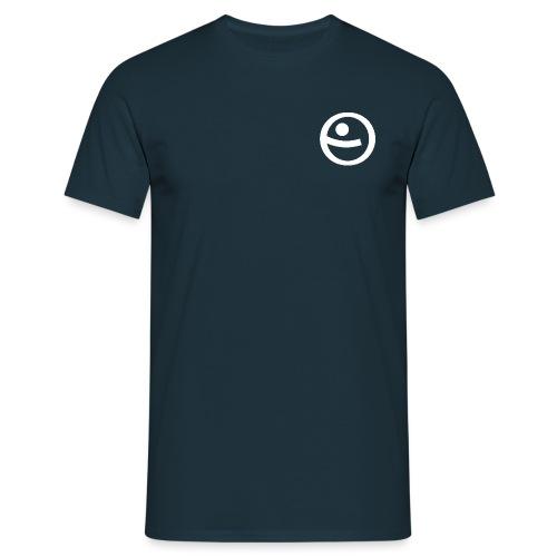 PSW Logo Weiss - Männer T-Shirt
