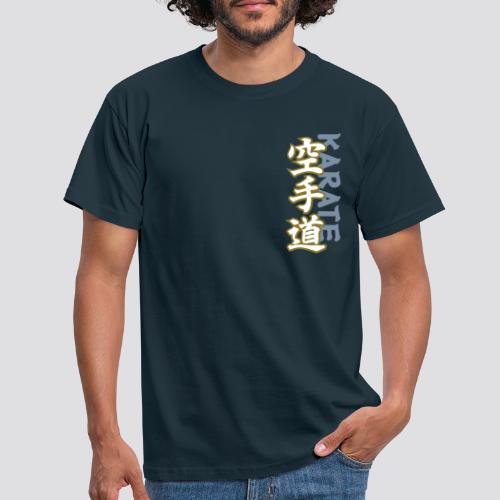 Karate Kanji - Mannen T-shirt