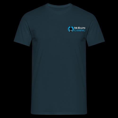 McRalph Gaming Logo 3 Whi - Männer T-Shirt