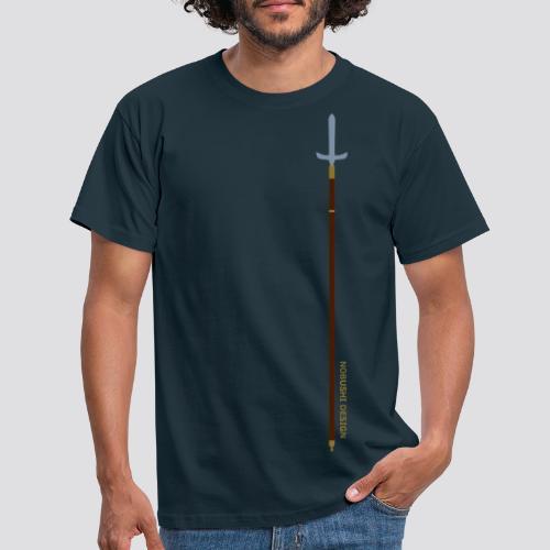 Metallic Jyumonji Yari - Mannen T-shirt