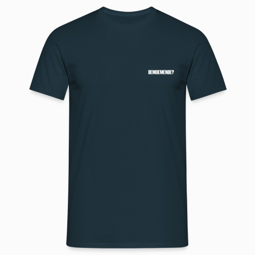 Oemoemenoe? - Lekker Zeeuws - Mannen T-shirt