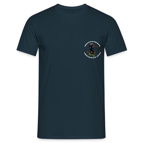 logo pmm blanc png - T-shirt Homme