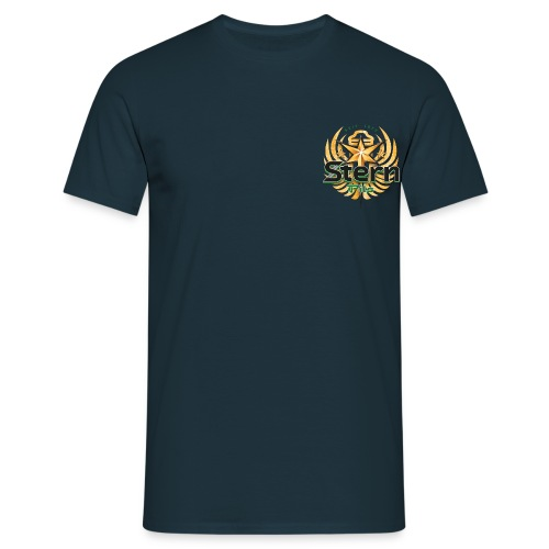 Stern_frei_spread_srgb - Männer T-Shirt