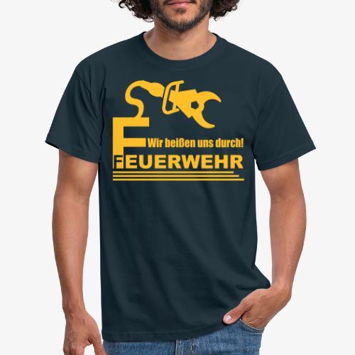Wir beißen uns durch - Männer T-Shirt
