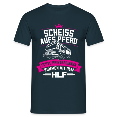 Feuerwehr HLF Prinzessin - Männer T-Shirt