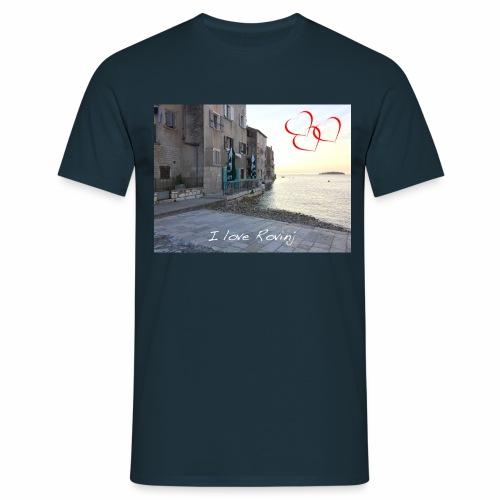 I love Rovinj - Männer T-Shirt