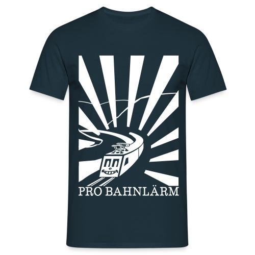 Pro Bahnlärm Rheintal - Männer T-Shirt