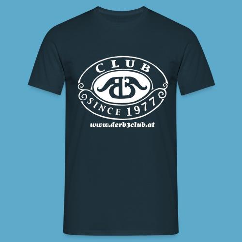 B3Club weiß groß png - Männer T-Shirt