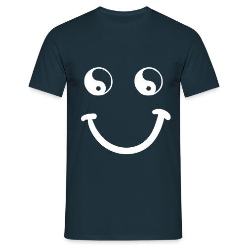 sorriso yoga hippie arte campeggio amore pace - Maglietta da uomo