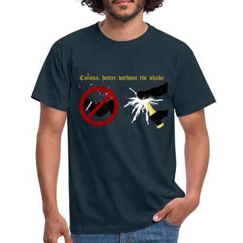 corona - T-shirt herr