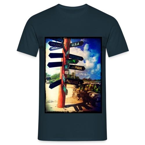 directions jpg - Mannen T-shirt