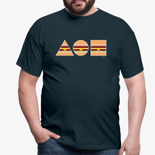 Graphic Burgers - Maglietta da uomo