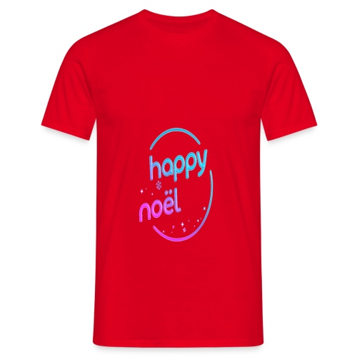 happy noel - T-shirt Homme