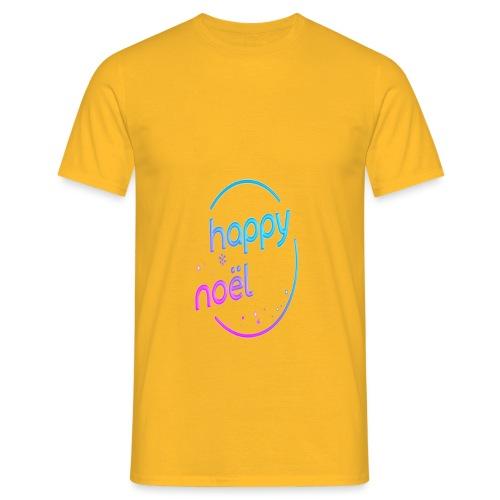 happy noel - T-shirt Homme