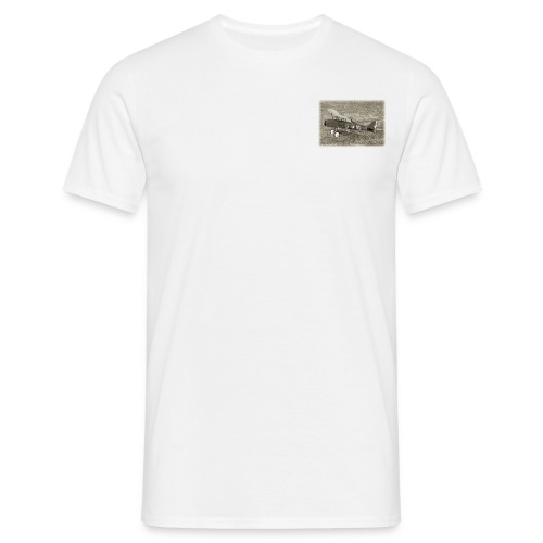 SE5a WW1 radio controlled biplane - Men's T-Shirt