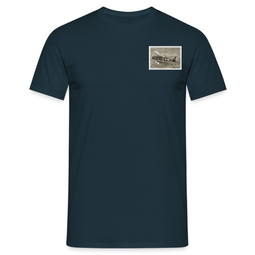 SE5a WW1 radio controlled biplane - Men's T-Shirt