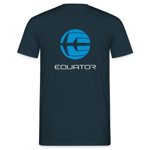 EQ LOGO GLOBE ONTOP notex - Men's T-Shirt