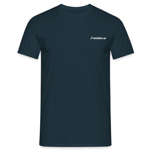 utsidan-2000px-bw - T-shirt herr