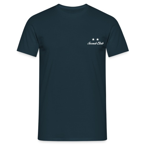 Seconde Etoile (Police blanche) - T-shirt Homme