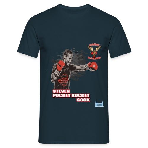 Steve Pocket Rocket Cook - Men's T-Shirt