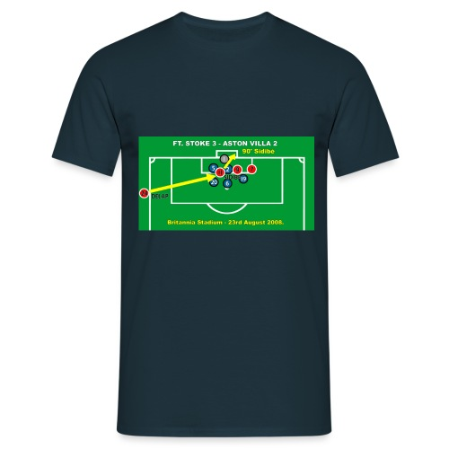sidibegoalcnvpng - Men's T-Shirt