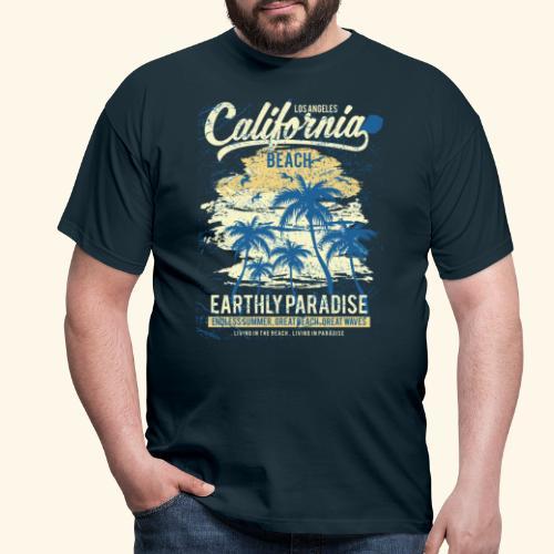 California-Beach - Men's T-Shirt