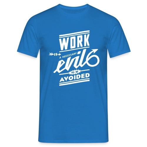 workevil_white - Männer T-Shirt