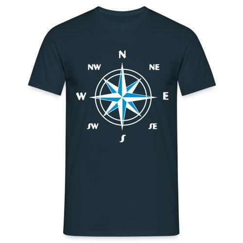 Kompass 3 - Männer T-Shirt