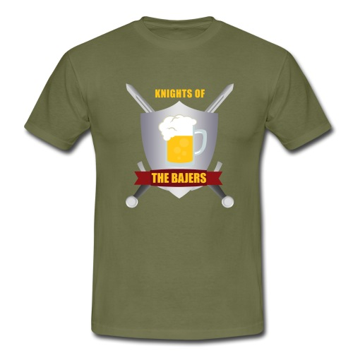 Knights of The Bajers - Herre-T-shirt