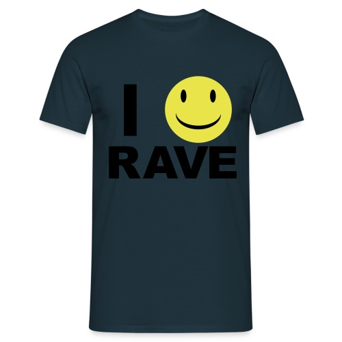 I :D rave - Men's T-Shirt